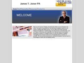James T. Joiner, Attorney at Law (Winter Haven,  FL)
