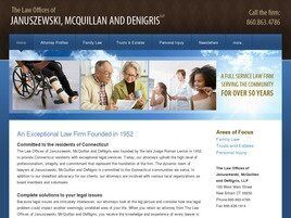 The Law Offices of Januszewski McQuillan and DeNigris, LLP ( Hartford,  CT )