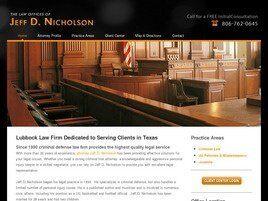 Jeff D. Nicholson(Lubbock, Texas)
