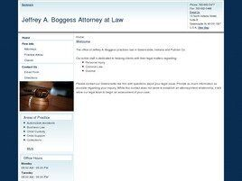 Jeffrey A. Boggess Attorney at Law (Greencastle,  IN)