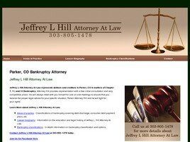 Jeffrey L. Hill, P.C. ( Castle Rock,  CO )