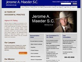 Jerome A. Maeder, S.C. Attorneys at Law (Arpin,  WI)