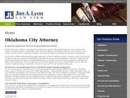 Jim A. Lyon Law Firm (Oklahoma City,  OK)