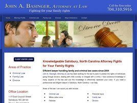 John A. Basinger Attorney at Law (Concord,  NC)