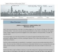 John E. Norton & Associates, LLC ( Chicago,  IL )