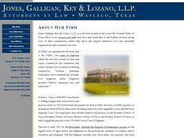 Jones, Galligan, Key & Lozano, L.L.P. (Weslaco, Texas)