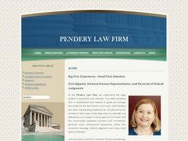 Pendery Law Firm (Dallas Co.,   TX )