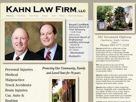 Kahn Law Firm, LLC (Charleston Co.,   SC )