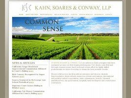 Kahn, Soares & Conway, LLP (Kings Co.,   CA )