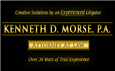 Kenneth D. Morse A Professional Association ( Orlando,  FL )
