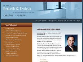 Law Offices of Kenneth W. DeJean ( Church Point,  LA )