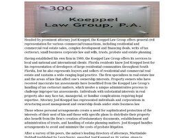 Koeppel Law Group, P.A. (West Palm Beach, Florida)