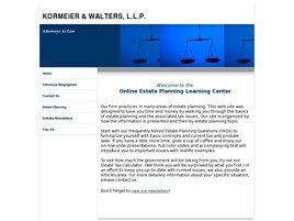 Kormeier & Walters, L.L.P. (Houston, Texas)