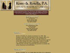 Kosto & Rotella, P.A. (Orlando, Florida)