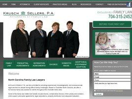Krusch & Sellers, P.A., Your Family Attorneys (Charlotte,  NC)