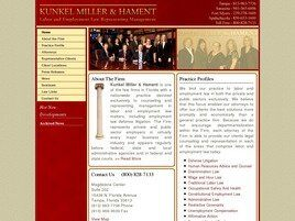 Kunkel Miller & Hament (Sarasota, Florida)