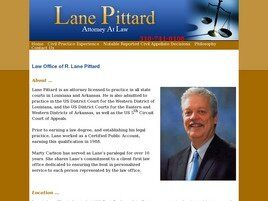 Lane Pittard Attorney at Law ( Bossier City,  LA )