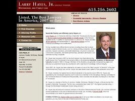 Larry Hayes, Jr. Attorney at Law ( Nashville,  TN )