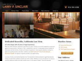 Law Offices of Larry P. Sinclair (Roseville,  CA)