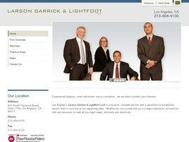 Larson, Garrick & Lightfoot, LLP (Los Angeles,  CA)