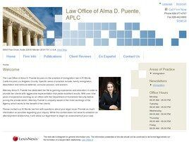 Law Office of Alma D. Puente, APLC (Santa Ana,  CA)