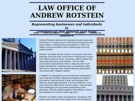 Law Office of Andrew Rotstein(Brooklyn, New York)