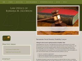 Law Office of Barbara M. Jacobson (Sacramento,  CA)