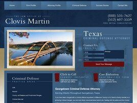Law Office of Clovis Martin ( Georgetown,  TX )