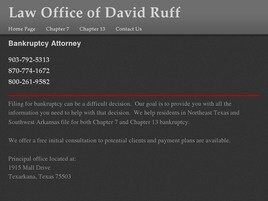 Law Office of David Ruff (Texarkana,  TX)