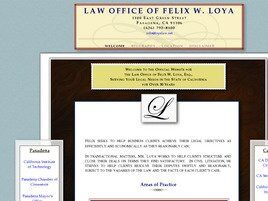 Law Office of Felix W. Loya (Los Angeles Co.,   CA )