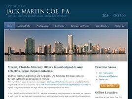 Law Office of Jack Martin Coe, P.A. ( Coral Gables,  FL )