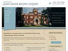 Law Office of James Edgar Brown, Esquire (Honesdale,  PA)