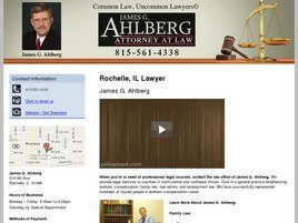 Law Office of James G. Ahlberg ( Dixon,  IL )