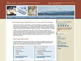 Law Office of Jerold W. Hilary, LLC (Tigard,  OR)