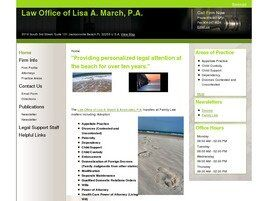 Law Office of Lisa A. March, P.A. (Ponte Vedra Beach,  FL)