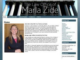 Law Office of Marla Zide, LLC(Glen Burnie, Maryland)