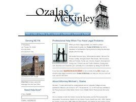 Law Office of Ozalas & McKinley (Northampton Co.,   PA )