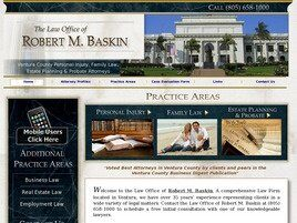 Law Office of Robert M. Baskin ( Ventura,  CA )