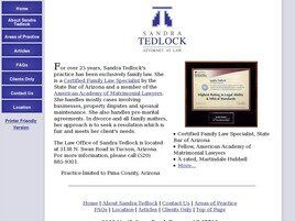 Law Office of Sandra Tedlock ( Tucson,  AZ )