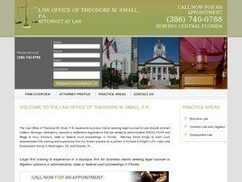 Law Office of Theodore W. Small, P.A. (Seminole Co.,   FL )