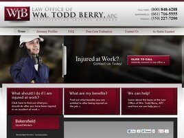 Law Office of Wm. Todd Berry A Professional Corporation (Kern Co.,   CA )