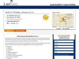 Law Offices of Andrea C. Polunsky ( San Antonio,  TX )