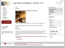 Law Offices of Barbara J. Pittman, P.A. (Apollo Beach,  FL)
