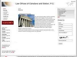Law Offices of Cahalane and Stefani, P.C. (Acushnet,  MA)