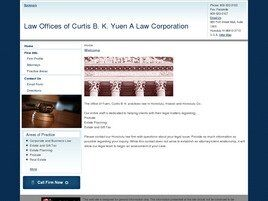 Law Offices of Curtis B. K. Yuen A Law Corporation (Honolulu,  HI)