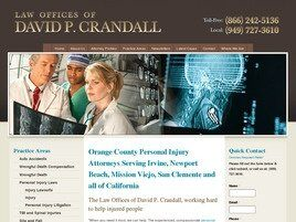 Law Offices of David P. Crandall (Orange Co.,   CA )