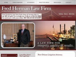 Fred Herman Law Firm (New Orleans, Louisiana)