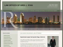Law Offices of Greg J. Ryan, APLC ( San Diego,  CA )