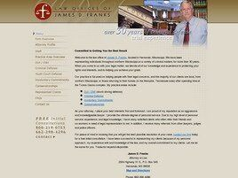 Law Offices of James D. Franks (Hernando,  MS)