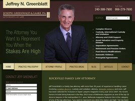 Law Offices of Jeffrey N. Greenblatt ( Baltimore,  MD )
